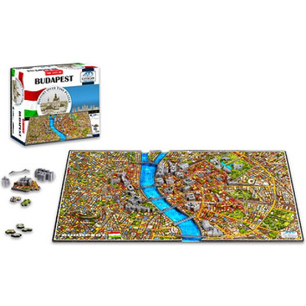 4D City Puzzle: Budapest - 1. kép