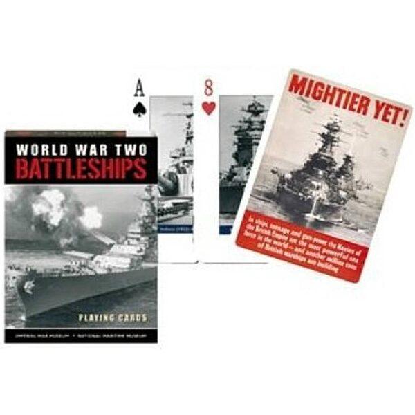 A Battleships - Hadihajók 1x55 lapos römi kártya - 1. kép