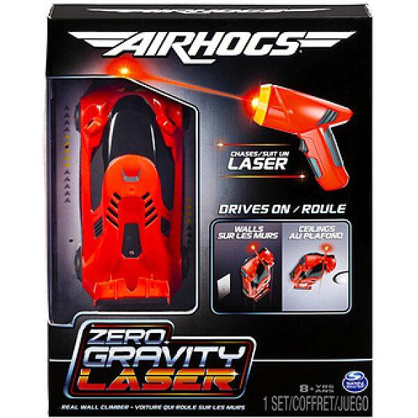 Air Hogs: Zero Gravity Laser versenyautó - piros - 1. kép