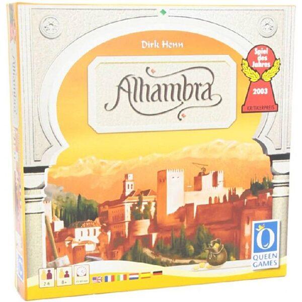 Alhambra társasjáték - 1. kép