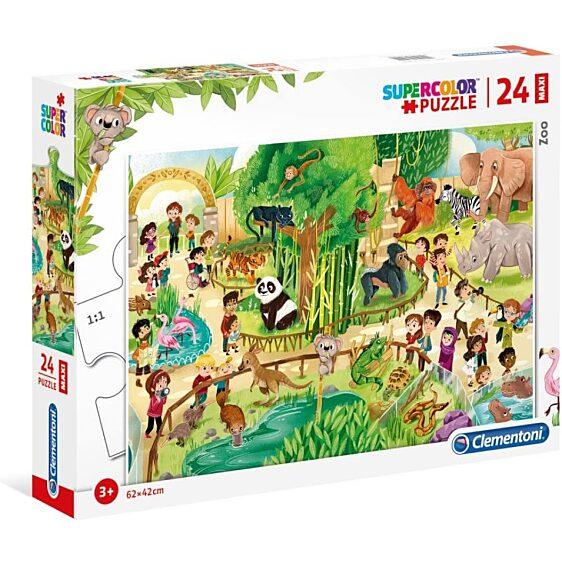 Állatkert 24 db-os maxi puzzle - Clementoni - 2. kép