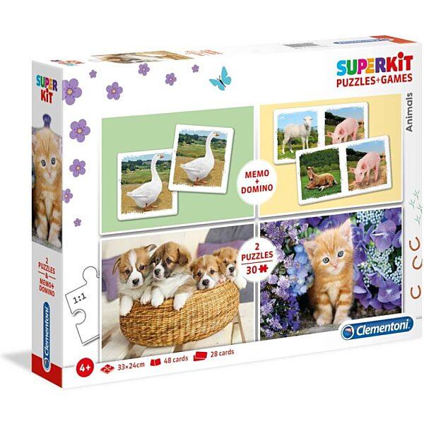 Állatok 2x30 db-os puzzle