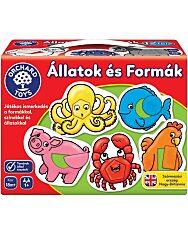 Állatok és formák társasjáték - Orchard Toys