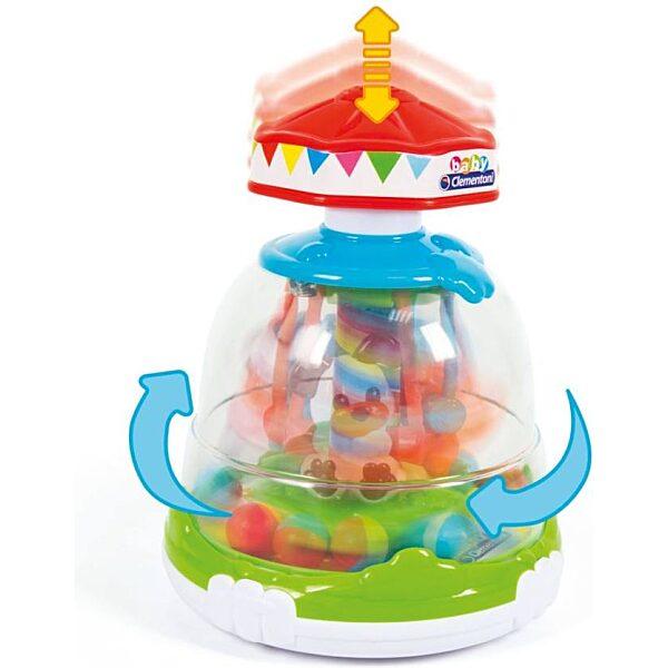 Állatos forgó torony - Clementoni Baby - 2. kép