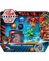 Bakugan: 5 db-os harci csomag - Ventus Phaedrus - Pyrus Hydranoid - 1. kép