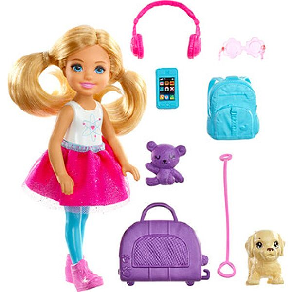Barbie Dreamhouse: világjáró Chelsea kiskutyával és kiegészítőkkel - 1. kép