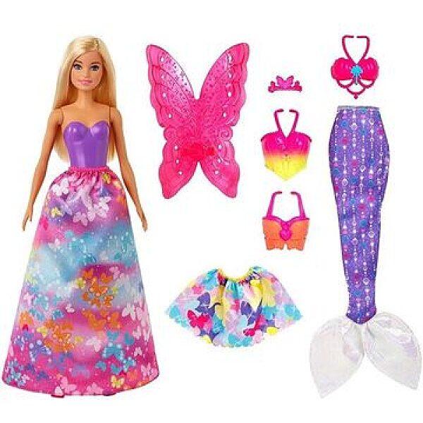 Barbie Dreamtopia: Átalakítható hercegnő - 1. kép