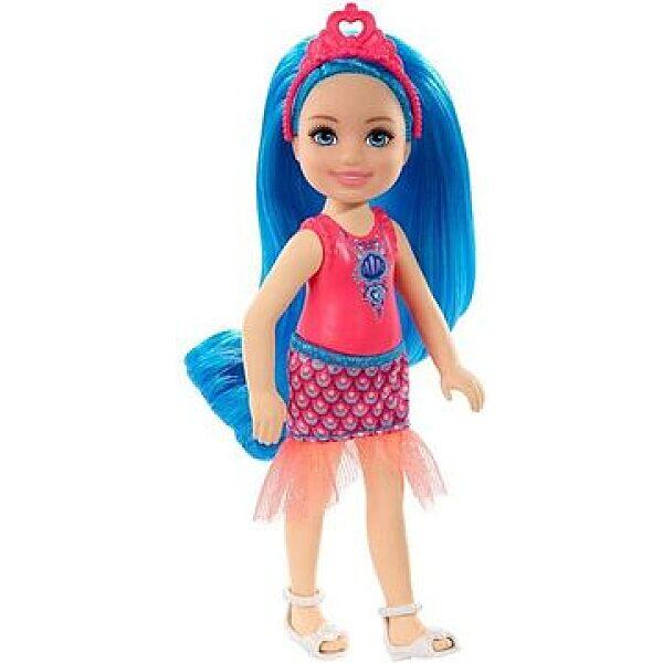 Barbie Dreamtopia: Kék hajú lány baba - 1. kép