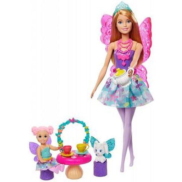 Barbie Dreamtopia: Tea parti tündérbabaval és kiegészítőkkel - 1. kép