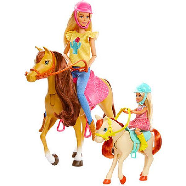 Barbie: lovarda játékszett - 1. kép