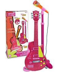 Bontempi: Rock gitár állványos mikrofonnal - 1. kép