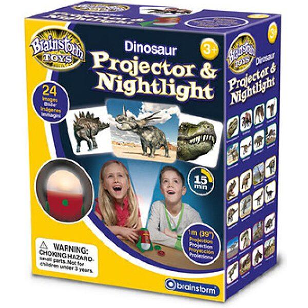 BS Dinoszauruszok projektor és éjjeli kivetítő - 1. kép