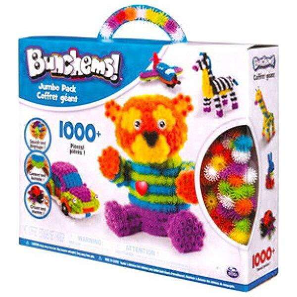Bunchems: Jumbo Pack 1000 darabos színes formázó készlet - 1. kép