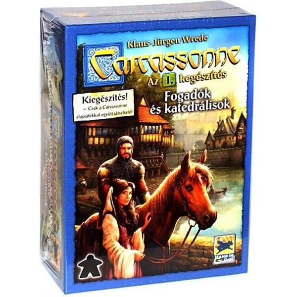Carcassonne Fogadók és katedrálisok társasjáték - 1. kép