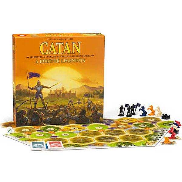 CATAN A Hódítók Legendája – Kiegészítés a Lovagok és Városok játékhoz - 1. kép