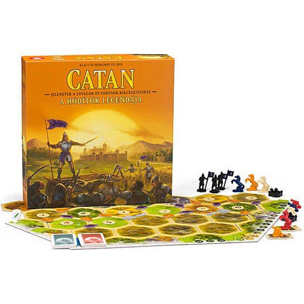 Catan - A hódítók legendája társasjáték kiegészítő - 2. kép
