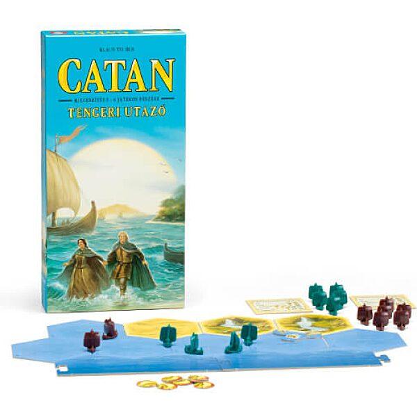 Catan Tengeri utazó – Kiegészítés 5-6 játékos részére - 1. kép