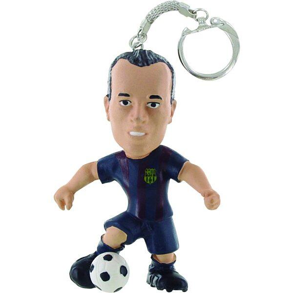 Comansi FC Barcelona - Andrés Iniesta focista kulcstartó - 1. kép
