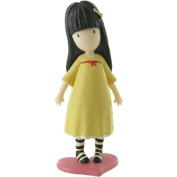 Comansi Gorjuss - Sárga ruhás játékfigura - 1. kép