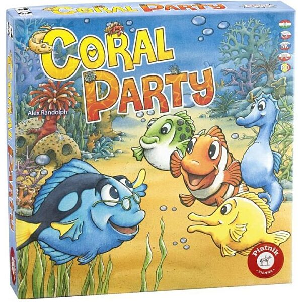 Coral Party társasjáték - 1. kép