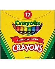 Crayola: Viaszkréta – 12 db