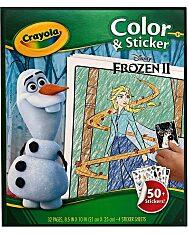 Crayola Jégvarázs: színező és matricázó füzet - 1