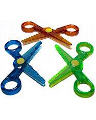 Crayola Mini Kids: 3 darabos műanyag olló készlet - 2