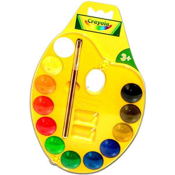 Crayola: Palettás vízfesték készlet - 1. kép