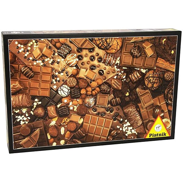Csokoládé 1000 db-os puzzle - Piatnik - 2. kép