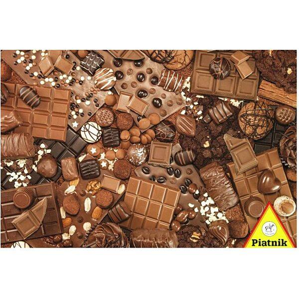 Csokoládé 1000 db-os puzzle - Piatnik - 1. kép