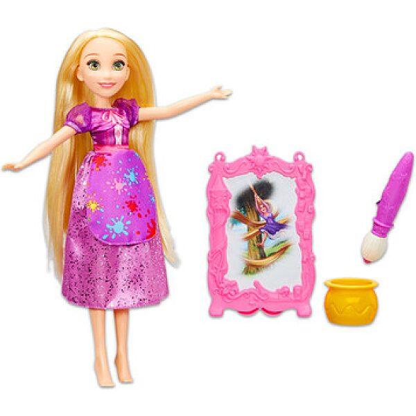 Disney hercegnők: Aranyhaj baba festő felszereléssel - 1. kép