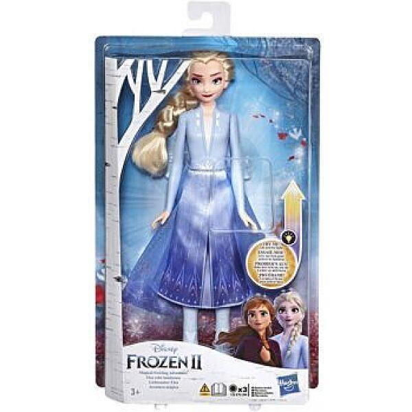 Disney hercegnők: Jégvarázs 2 - világító Elza baba - 1. kép