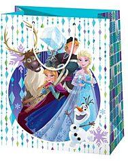 Disney hercegnők Jégvarázs álló dísztasak - 40 x 20 x 55 cm - 1. kép
