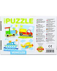 Első Puzzle-m: Járművek