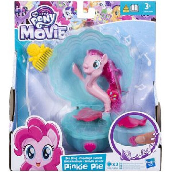 Én Kicsi Pónim: Pinkie Pie zenélő kagylóban - 1. kép