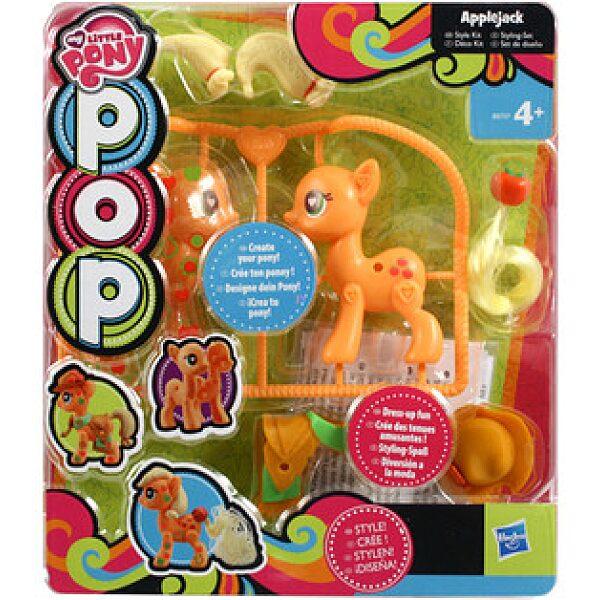 Én kicsi pónim: POP divatos készlet - Applejack - 1. kép