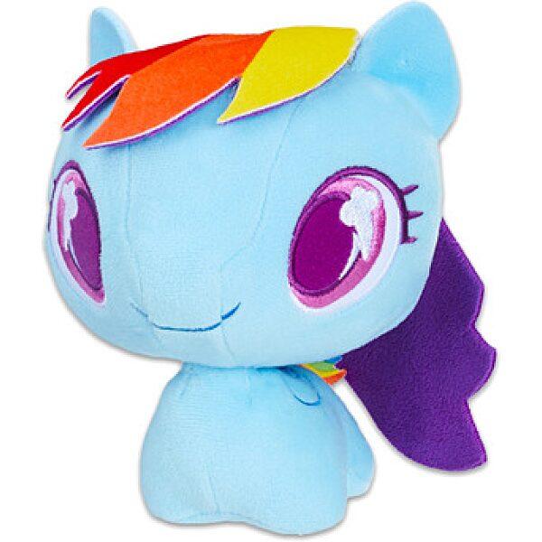 Én kicsi pónim: Rainbow Dash póni plüssfigura - 16 cm - 1. kép