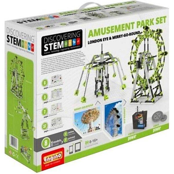 Engino Discovering Stem építőjáték - Vidámpark - 1. kép