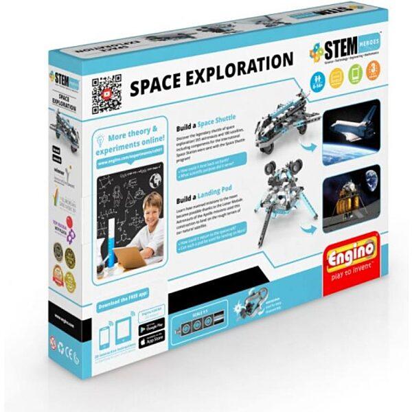 Engino stem űrkutatás építőjáték - 2. kép