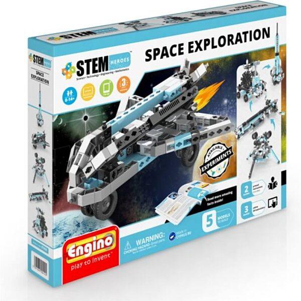 Engino stem űrkutatás építőjáték - 1. kép