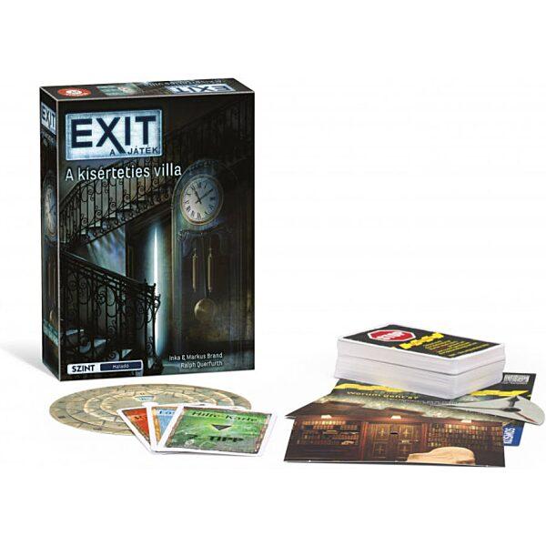 EXIT 10. A kísérteties villa társasjáték - 1. kép