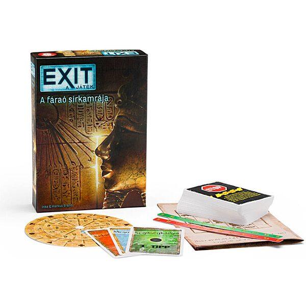 EXIT 3. - A fáraó sírkamrája társasjáték - 1. kép