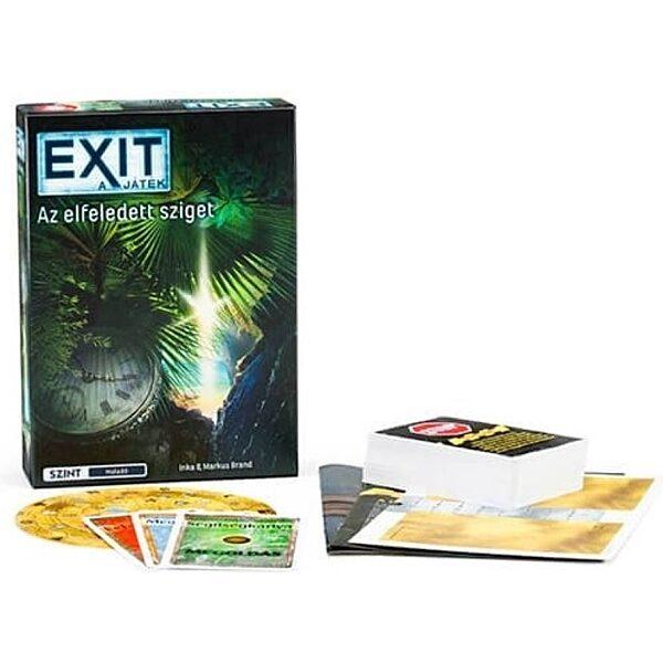 EXIT 4. - Elfeledett sziget társasjáték - 1. kép