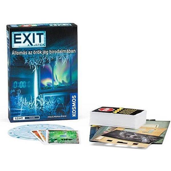 EXIT 6. - Állomás az öreg jég birodalmában társasjáték - 1. kép