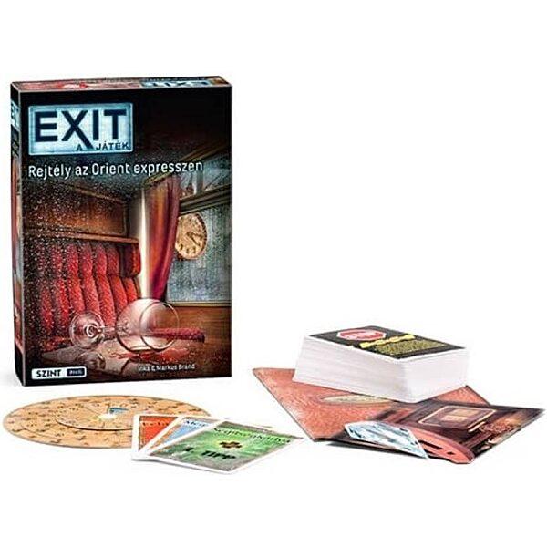 EXIT 7. - Gyilkosság az Orient Expresszen társasjáték - 1. kép