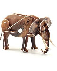 Felhúzható 3D puzzle - elefánt - 2. kép