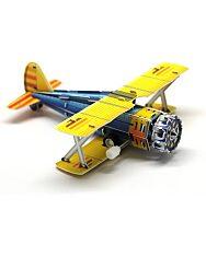 Felhúzható 3D puzzle - kétfedelű vadászgép - 2. kép
