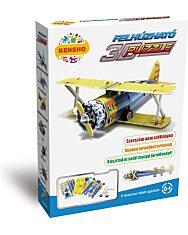 Felhúzható 3D puzzle - kétfedelű vadászgép - 1. kép