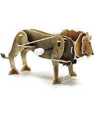 Felhúzható 3D puzzle - oroszlán - 2. kép