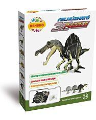 Felhúzható 3D puzzle - Spinosaurus - 1. kép